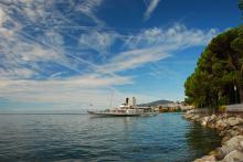 Dampfschiff auf dem Lac Leman
